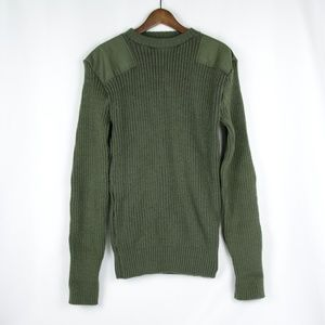 Marine Corps Olive Wool Sweater Size 42